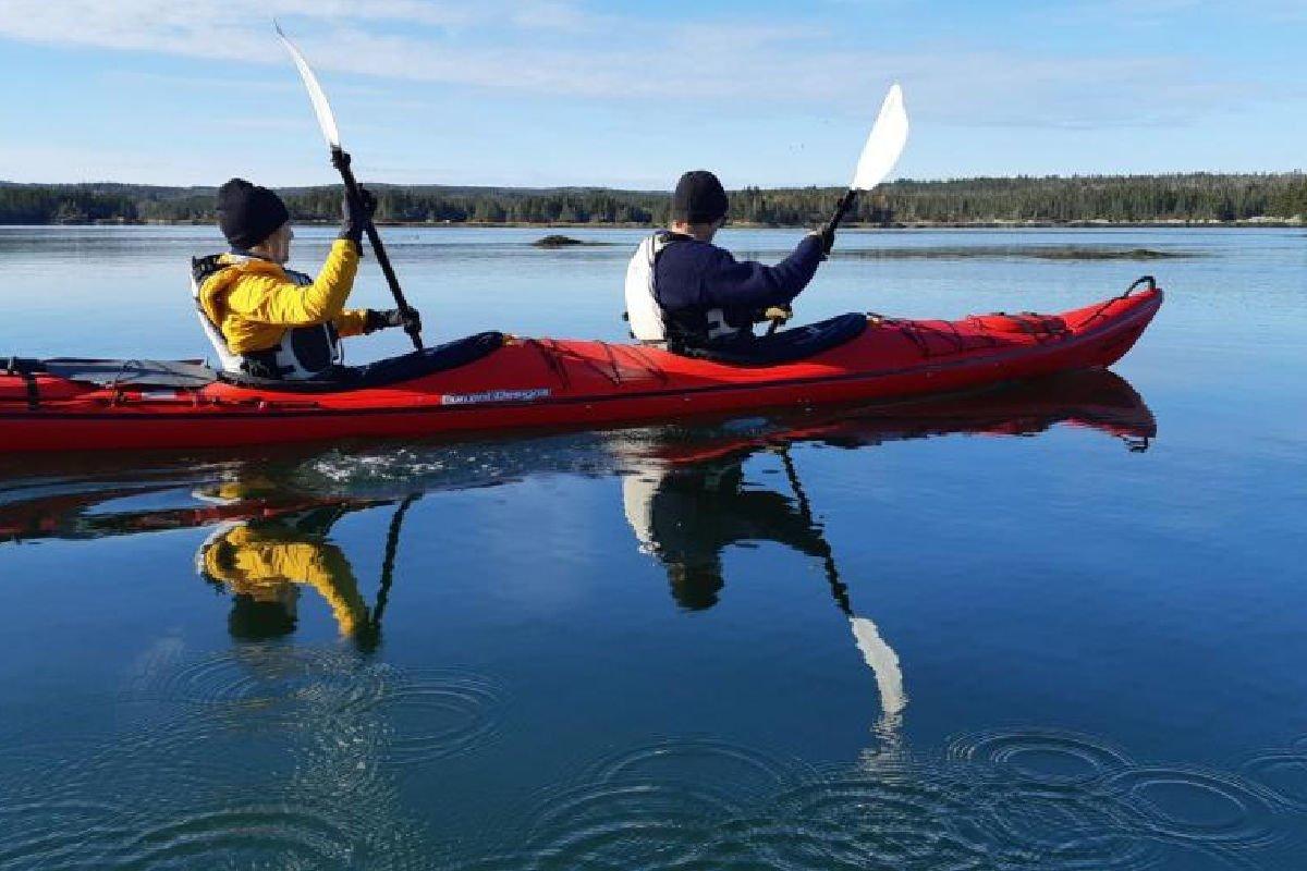 Private Island Kayak Sauna Tour Cape Lahave Adventures